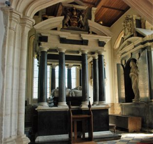 The magnificent tomb of Sir Baptist and Lady Hicks attr. Nicholas Stone | Mary Fielding