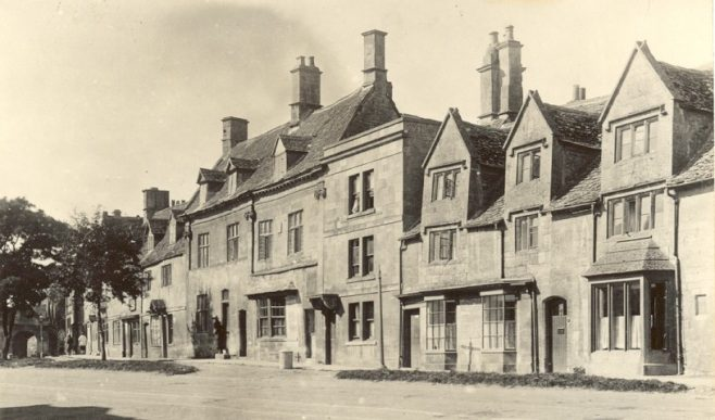 row of houses on Campden High Street