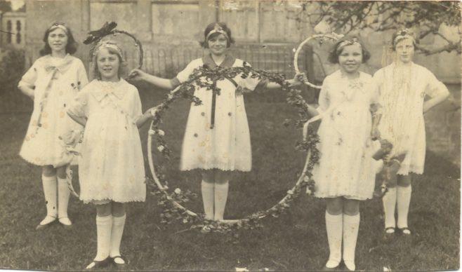 St Catharines School Hoop dance