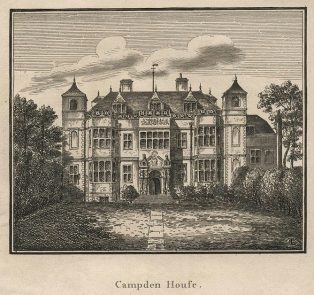 A print of Campden House Kensington