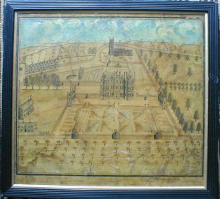 Painting of Campden House showing how it might have looked