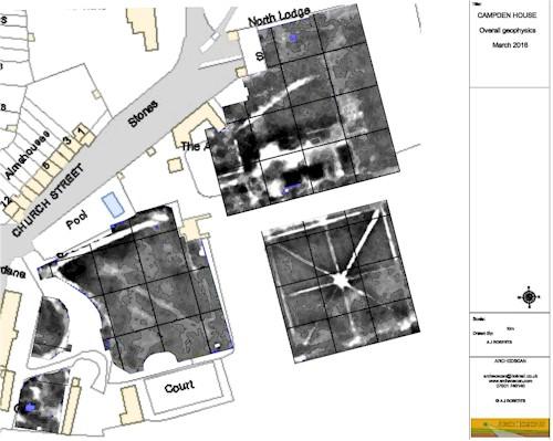geophysical survey of old Campden House