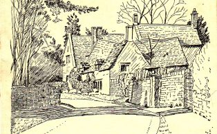Two drawings by Constance Sparling
