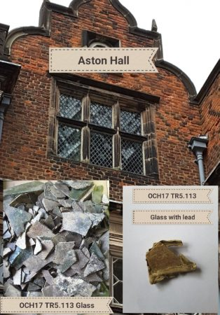 Aston Hall with window glass | Helen Kirkup