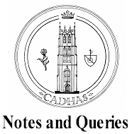 Notes and Queries: CADHAS logo