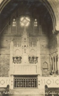 The High Altar, St Catharine's Church