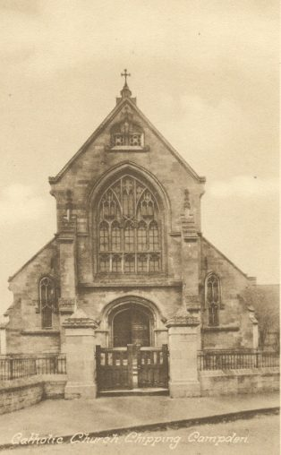 The West Front, St Catharine's Church