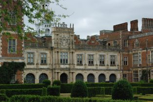 Hatfield House: the Loggia | Mary Fielding
