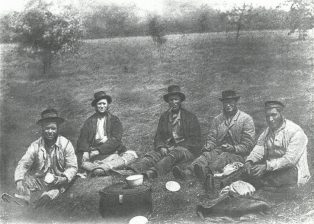 Campden Haymakers of Long Ago
