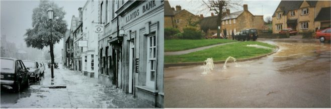 Flooding in Campden