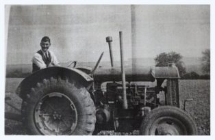 Our first tractor