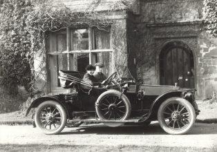 Col Lynch-Staunton and his car
