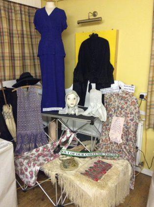 Ebrington W.I. Display of Costumes   Pearl Mitchell