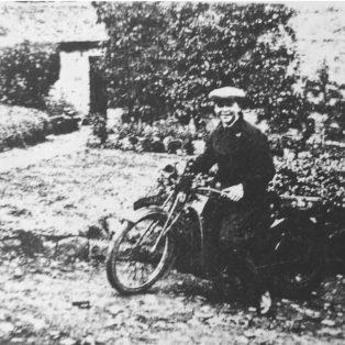 Lewis motorbike