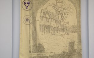 Chipping Campden appears in Gloucestershire Archives artwork