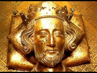 Henry III from the effigy on his tomb in Westminster Abbey