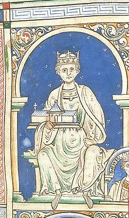 manuscript portrait of Henry II