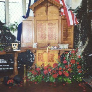 War Memorial in St James' Church