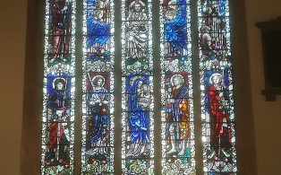 Josephine Griffiths' Explanation of the Design of the East Window