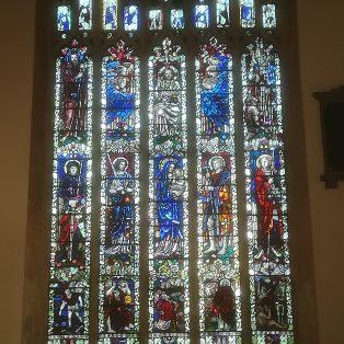 The Memorial East window in St James' Church, installed in 1924 | David Hewitt