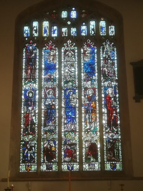 The Memorial East window in St James' Church, installed in 1924 | David Hewitt