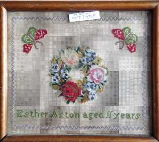 Sampler by Esther Aston
