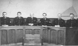 Campden Police Officers in the Court Room