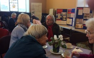 CCHS Members get together for coffee and cake