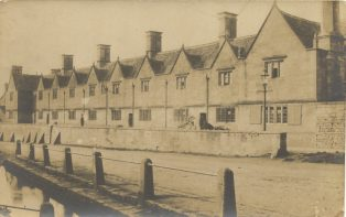Ain't there nobody ill in the Almshouses?