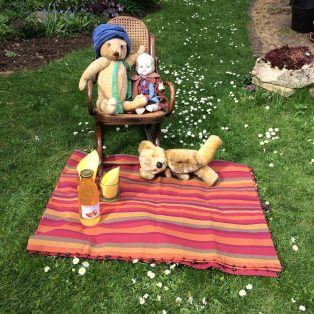 We were invited to share the Teddy Bears picnic at Mill House by sending in our photos