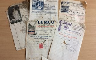 Cucumber Frames and Coffins  - The Ladbrook Invoices