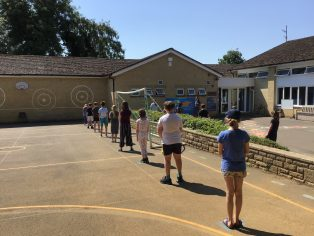 Back to school at St. James School 2020