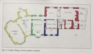 Plan of Vicarage after 1833