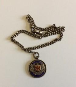 Football medallion