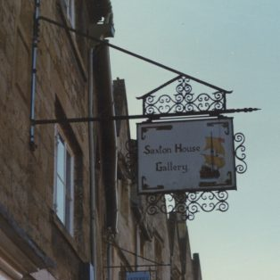 Saxon House Gallery sign | Mary Fielding