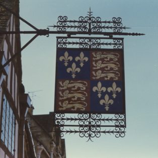 King's Arms Pantry sign | Mary Fielding