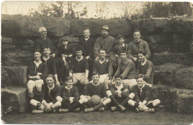St James' football team 1928