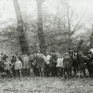 WWI German POWs on local farm