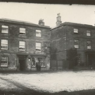 Ardley House (left) and Henry Makepiece's house