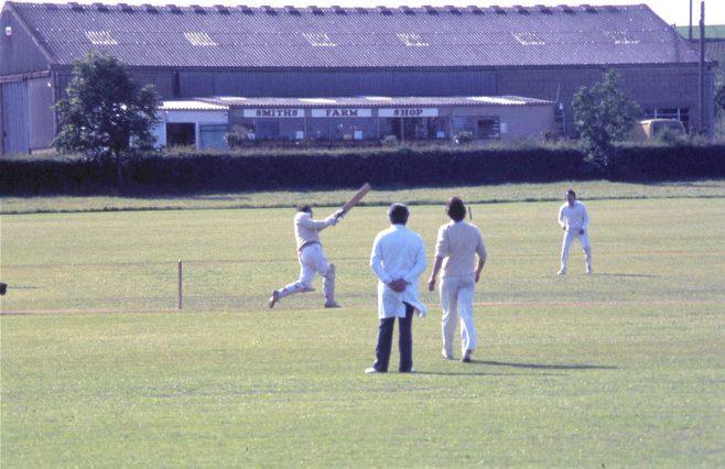 Campden cricket match c.1980