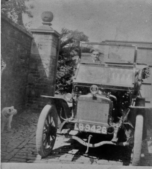 Chipping Campden's first car