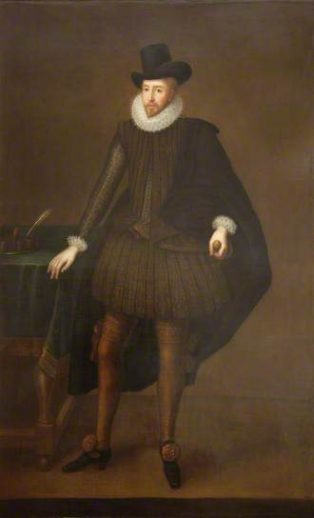 Sir Baptist Hicks attr. to Paul van Somer | reproduced with the kind permission of the Trustees of the Middlesex Guildhall Art Collection
