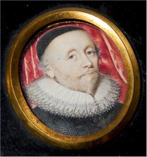 Baptist Hicks - roundel portrait