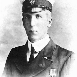 Basil Hovenden Neve in naval uniform