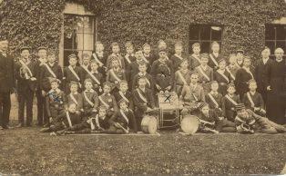 Campden Boys Brigade, at the Vicarage