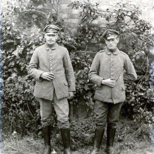 Two WWI German POWs
