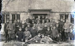 German POWs in WWI