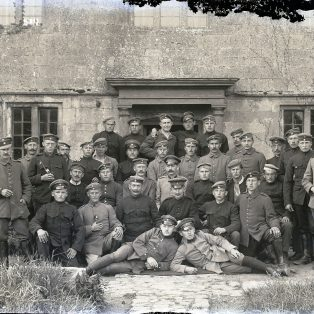 German POWs outside The Priory | Jesse Taylor