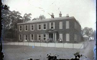 Norton Hall Red Cross Hospital in WW1