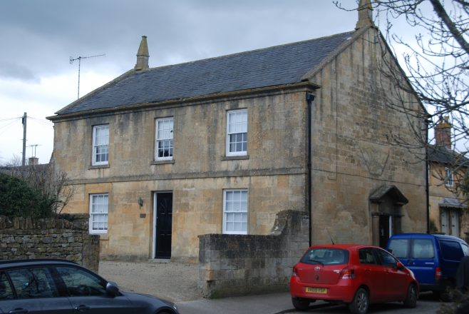 The former Methodist Chapel, now a private house | Mary Fielding